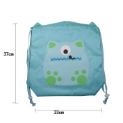 ashdown Unisex Drawstring backpack Shoulder Bag Handbag Tote pouch Household Storage Bags Packing Travel backpack for Shopping, Picnic,Holiday ,Blue