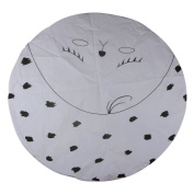 Cute Round Floor Mat for Baby Play Crawling Clown