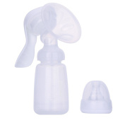 Samber Manual Breast Pump Adjustable Strong Suction Milk Pump--BPA Free