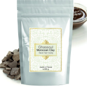 Ghassoul (rhassoul) Authentic Clay Atlas 500g Exquisite spa quality mineral-rich clay from Morocco - Face, Hair, Body Detox