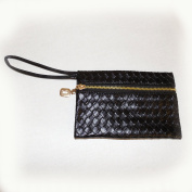 . , Black Braid, Texture, Lady Handbag