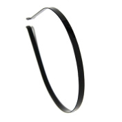 Black Metal Headband 6 mm