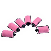 Hair Curlers - ROSENICE Foam Sponge Hair Rollers Sponge Clip-on Hair Curler,6pcs