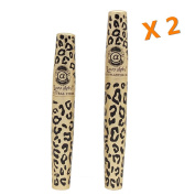 2 Sets (4 Tubes) Love Alpha (Gel & Fibre) Mascara Set,brush on False Eyelashes
