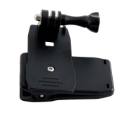 Rotary Backpack Hat Belt Clip Clamp Mount for GoPro Hero 2/3/3+