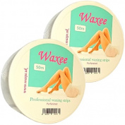 50 metres Professional Waxing Strips on Roll- perforated- Waxee- High Quality!