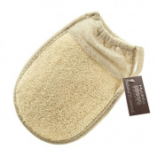 Hydrea London Egyptian Loofah Glove with Elasticated Cuff