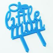 Little Man Boy Cake Topper Baby Shower Decoration Birthday Christening