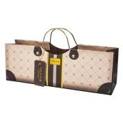 True Fabrications Mocha Purse Wine Bag 3182