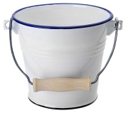Ibili 903314 Steel Bucket 14 cm White