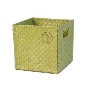 Colibries Camelia Foldable Basket, Green