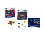 Globo Toys Globo - 30434 3 Assorted Kidea Magnetic Board with Letter and Number