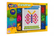 Globo Toys Globo - 37635 Kidea Mosaic Sticking Pegs Game