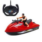 Novias Boutique Toddler RC/Remote Control 5 Function Jet Ski Speed RC Fast Boat for Kids Outdoor Sports