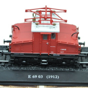 Atlas Vintage1/87 Train Toy Collectible Model Tram E 6903 Electric Model. For Rio2016 Olympic