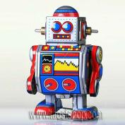MS235 Roger Robot - Clockwork Tin Toy Vintage Replica