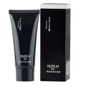 XIUZILM Black Mud Face Mask Blackhead Remover Deep Cleansing Peel Acne Treatment