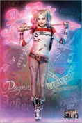 Poster Suicide Squad - Harley Quinn Stand - reasonably priced poster, XXL wall poster