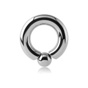 Surgical Steel Screw-in Ball Ring - 5mm 12mm