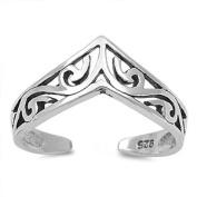 Toe Ring Sterling Silver Model 24