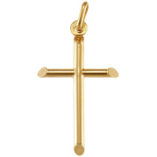 Plain Solid 9ct Gold Cross - 18mm x 30mm - Comes in Jewellery Gift Box