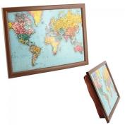 World Traveller Map Lap Tray by joe davis