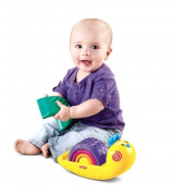Fisher Price W9841 Rainbow Snail Stacker  .   Baby