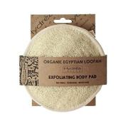 Hydrea London Organic Soft Egyptian Cotton Loofah Body Pad