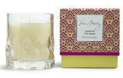 Vera Bradley Appleberry Champagne Scented Glass Decorative Candle in Gift Box