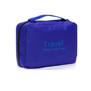 Travel Toiletry Bag Cosmetic Case Hanging Organiser Compact Design
