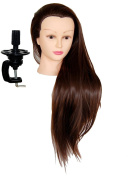 ROVA Beauty 70cm - 80cm Cosmetology Mannequin Manikin Training Head Synthetic Fibre with clamp - Sally