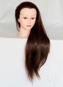 ROVA Beauty 70cm - 80cm Cosmetology Mannequin Manikin Training Head Synthetic Fibre - Sally