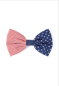 Flag of the United States Bow Barrette.