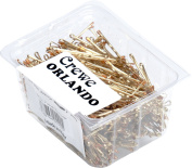 CREWE ORLANDO Wavy Hair Grips 5.1cm Long X500 Blonde