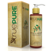 TruePure Agran Oil Conditioner With ArganPure Complex - Natural, Unscented, Plant Based Hair Loss Prevention Formula Without Sulphates or Parabens For Healthy Hair Growth - 240ml