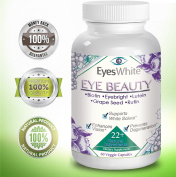 Eye Care ♥+ Whitening Beauty Supplements. For eyes with lutein & eyebright. Doctor approved vision care, computer glasses eye strain treatments, helps dry eyes and computer vision syndrome symptoms.