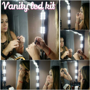 Make-up Vanity LED Kit / Mirror Kit, 10 LED Vanity Lights + Dimming Switch & LED provided by for Samsung