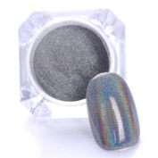 NICOLE DIARY 1g/Box Holographic Laser Powder Nail Glitter Rainbow Pigment Manicure Chrome Pigments