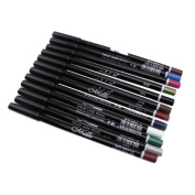Eyeliner Pen, Kinghard 12 Colours Eyebrow Glitter Shadow EyeLiner Makeup Set Kit