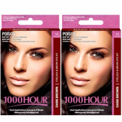 Combo Pack! 1000 Hour Eyelash & Brow Dye / Tint Kit Permanent Mascara