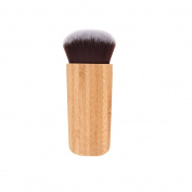 CINEEN 1Pc Multifunctional Blush Brush Foundation Bamboo Handle Flat Head Brush