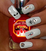 Jack Skellington Set of 50 Clear Waterslide Nail Decals for NBC-001-50 by One Stop Nails