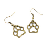30 Pairs Fashion Jewellery Making Charms Earrings Backs Findings Arts Crafts Hooks Bulk Lots Wholesale Supplier A4XB6 Bear´s Paw