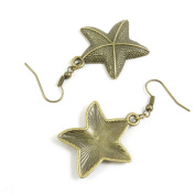 1 Pair Fashion Jewellery Making Charms Earrings Backs Findings Arts Crafts Hooks Bulk Lots Wholesale Supplier N1JT6 Starfish Sea Star