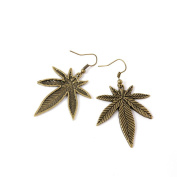100 Pairs Fashion Jewellery Making Charms Earrings Backs Findings Arts Crafts Hooks Bulk Lots Wholesale Supplier G1NP5 Maple Leaf Leaves