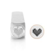 ImpressArt- Patchwork Heart Design Stamp, 6mm