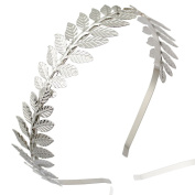 Q & Q Fashion Roman Goddess Leaf Branch Dainty Bridal Hair Crown Head Dress Boho Alice Band
