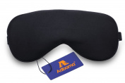 Adbama® 100% Top Quality Natural Silk Sleep Mask & Blindfold, Super Smooth Eye Mask with Adjustable Strap, Perfect for Travelling, Flight, Nap or Yoga