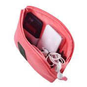 Happy Hours - Creative Shockproof Digital Storage Bag Pouch / Multifunction Makeup Smartphone Charger Headset Data Cable Case for Travel and Daily