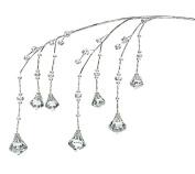 Burton and Burton Clear Acrylic Diamonds Floral Decorating Pick